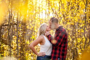 Fall Engagement Session in Saskatchewan by Collin Stumpf